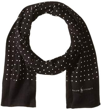 Polo Ralph Lauren Dot Tubular Scarf Scarves