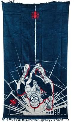 Marvel Spiderman Varsity Beach Towel