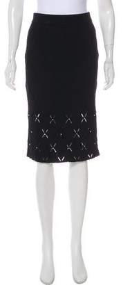 Jonathan Simkhai Embellished Knee-Length Skirt