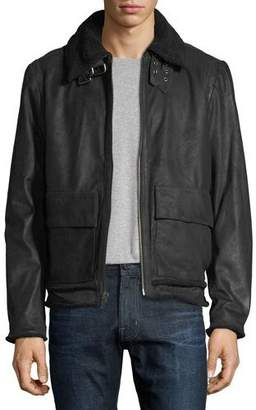 Joe's Jeans Men's Lauda Leather Jacket