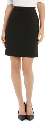 Miss Shop London Pencil Skirt With Side Splits