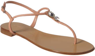 Giuseppe Zanotti Hollie Leather Thong Sandal