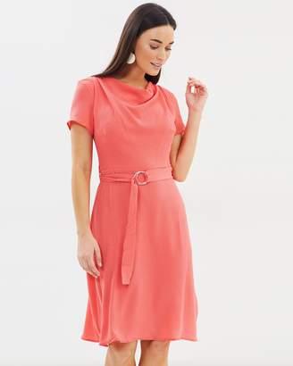 Dorothy Perkins Cowl-Neck Dress