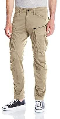 G Star Men's Rovic Zip 3D Straight Tapered Trousers, Green (Dk Bronze Green 6059), W35/L28