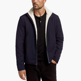 James Perse Y/OSEMITE SHERPA LINED JACKET