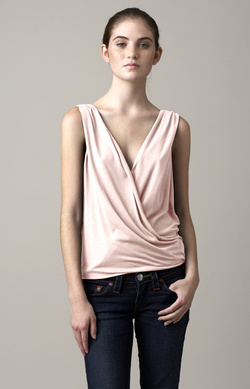 Luxe Cashmere Wrap Top