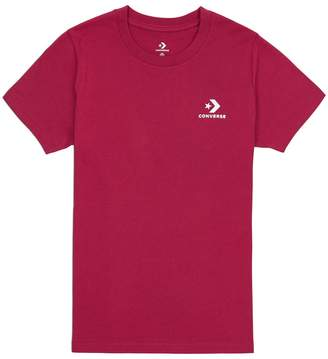 Converse Cotton Printed Crew Neck T-Shirt
