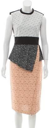 Proenza Schouler Colorblock Woven Dress w/ Tags