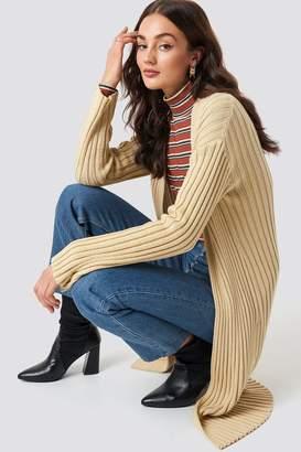 NA-KD Na Kd Midi Knitted Cardigan