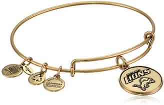 Alex and Ani Nfl Detroit Lions Logo Expandable Wire Rafaelian Bangle Bracelet