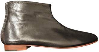 Martiniano Leather Ankle Boots