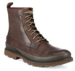 Sorel Madison Leather Wingtip Waterproof Boots