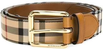 Burberry Horseferry check belt