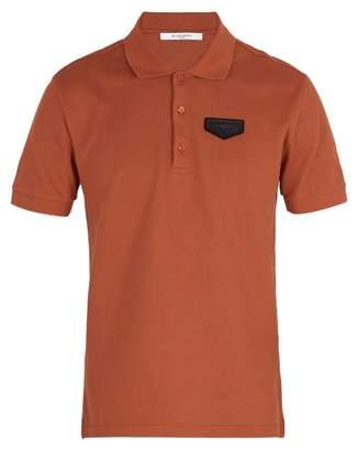 Givenchy Antigona Patch Polo Shirt - Mens - Orange