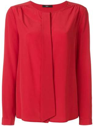 Steffen Schraut pleat detail blouse