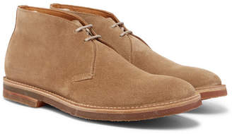 Officine Creative Cornell Suede Chukka Boots - Sand