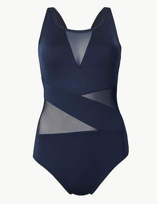 Marks and Spencer Mesh Non-Wired Swimsuit