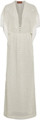 Missoni Mare Fringe-Trimmed Knit Coverup