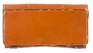 Dries Van Noten Patent Leather Clutch