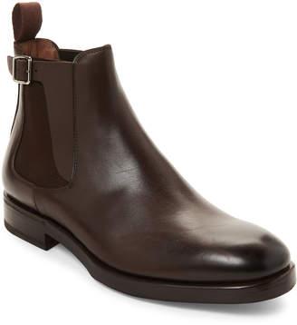 Henderson Baracco Dark Brown Leather Chelsea Boots