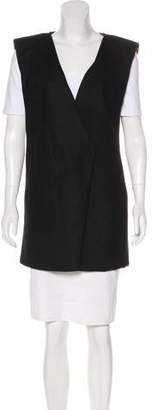 CNC Costume National Structured Sleeveless Vest