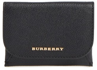 Women's Burberry Mayfield Leather Card Case - Black $375 thestylecure.com