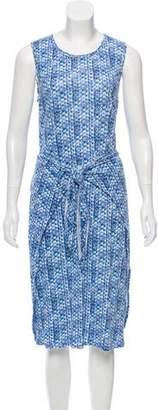 Rebecca Taylor Linen Midi Dress w/ Tags
