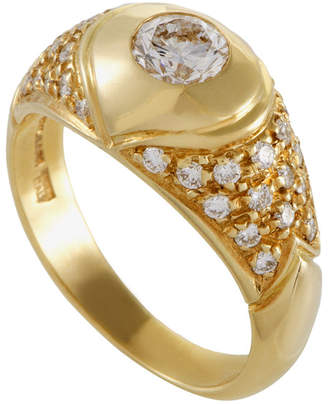 Bulgari Heritage  18K 0.50 Ct. Tw. Diamond Ring