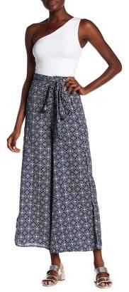 Elan International Patterned Wide Leg Pants