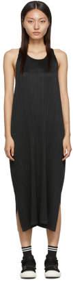 Pleats Please Issey Miyake Black Wrap Dress