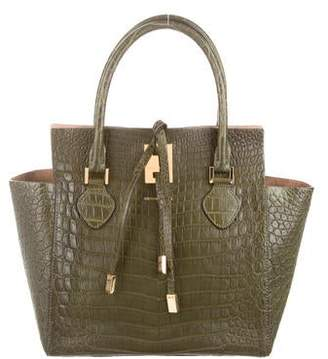 Michael Kors Crocodile Medium Miranda Tote
