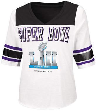 Touch By Alyssa Milano Women's Super Bowl 52 Touchdown T-Shirt