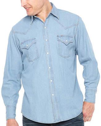 Ely Cattleman Long Sleeve Snap-Front Shirt
