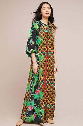 Cynthia Rowley Kipling Silk Maxi Dress