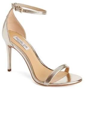 Rachel Zoe Ema Metallic Leather Heeled Sandals