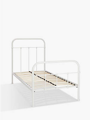 John Lewis & Partners little home at Botanist Child Compliant Metal Bed Frame, Single