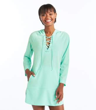 L.L. Bean L.L.Bean Bean's Stretch Swim Cover-Up, Hooded Tunic