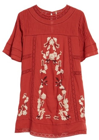 Women's Free People 'Perfectly Victorian' Minidress 4