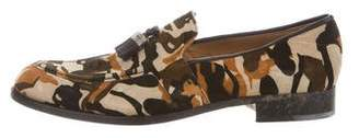Jimmy Choo Camo Suede Loafers