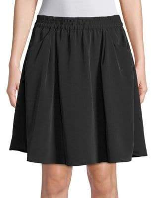 Halston H Relaxed A-Line Skirt