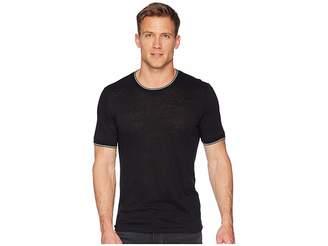Vince Sweater Rib Short Sleeve Men's Sweater