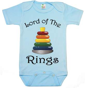 "TripleBDesigns "" Lord of the rings "" Custom Boutique Baby bodysuit onesie."