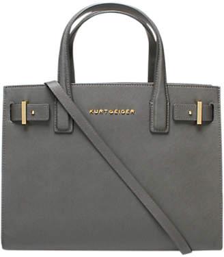 2919d187f4 Kurt Geiger Saffiano London Leather Tote Bag