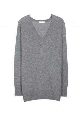 Equipment Asher Cashmere V-Neck Grey