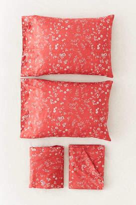 Scattered Floral Sheet Set