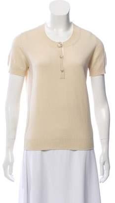Chanel Lightweight Cashmere Top
