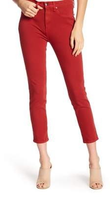 Veronica Beard Kate Cropped Skinny Jeans