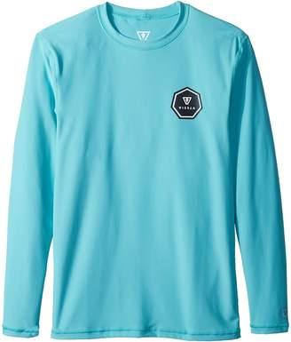 VISSLA Kids Everyday Long Sleeve Surf Tee Boy's T Shirt