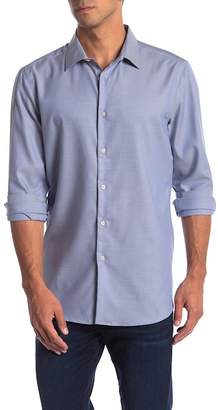 Perry Ellis Dobby Print Slim Fit Shirt