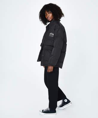 Stussy Stock Puffer Jacket Black
